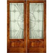 "FD1LPBEL300 - Mahogany EL300 Panel Bottom Door (8-0ft) (1-3/4"")"
