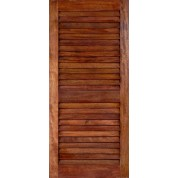 """LouverMA - Mahogany Louver Doors (1-3/8"""")"""