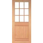 Vertical Grain Douglas Fir EXTERIOR Craftsman Doors- TM Bolton