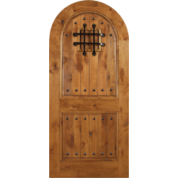 "Entrada - Escon Knotty Alder with Speak Easy Grill and Clavos - [Entrada] (1-3/4"")"