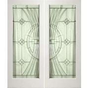 1 Lite White Primed Square Sticking Door- EL300