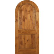 Escon Knotty Alder Arch Door - [Aspen]