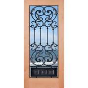 "KA1LAmbassador - Knotty Alder 1 Lite Door- Ambassador (1-3/4"")"