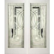 1 Lite White Primed Square Sticking Door- EL200