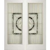 "EXWP1LEL100 - 1 Lite White Primed Square Sticking Door- EL100 (1-3/4"")"