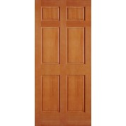 Vertical Grain Douglas Fir Interior Doors 6 Panel 1-3/8""