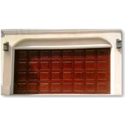 ColonialGD - Raised Panel Wood Garage Door Short Panel
