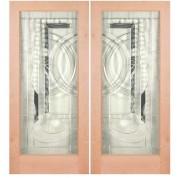 Knotty Alder 1 Lite Door- EL200