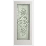 "EXWP1LEL400 - 1 Lite White Primed Square Sticking Door- EL400 (1-3/4"")"