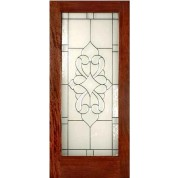 Mahogany Elegant Glass