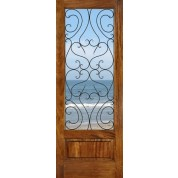 Mahogany Spain Panel Bottom Door
