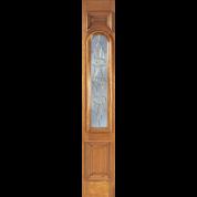 Side-Lite | Ironbark Beveled Glass | ETO Doors