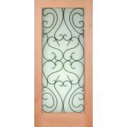 """ESF1 - Knotty Alder 1 Lite Door (1-3/4"""")"""
