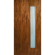 Leptos - Single Vertical Lite Door with Laminate Glass