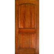 "Mahogany 2 Panel Arched Door (1-3/4"")"