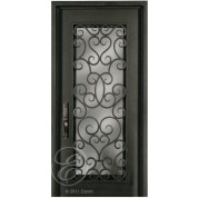 S516SHX33 - Escon Forged Iron Door