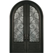 SR818SHXX64 - Escon Forged Double Iron Doors