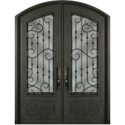 Escon Forged Double Iron Doors SS818WHXX54