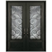 Escon Forged Double Iron Doors S818SHXX/61