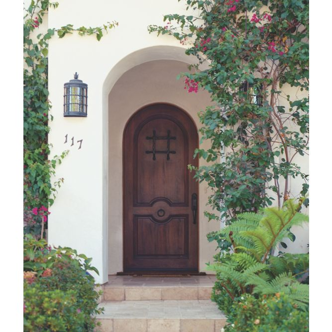 how to build an arched door jamb