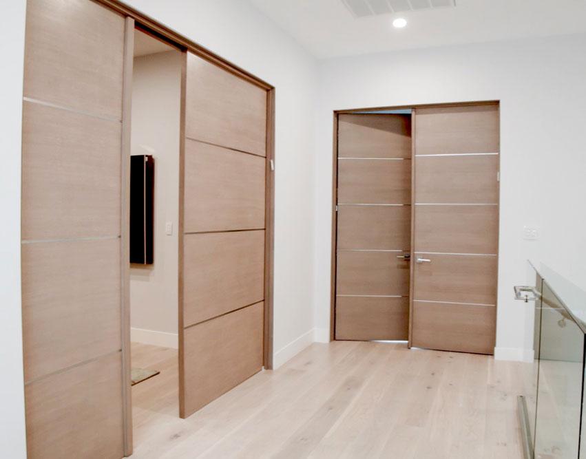 Movida mahogany flush door with 14 horizontal 3 aluminum strips movida mahogany flush door with 14 horizontal 3 aluminum strips 1 34 planetlyrics Images