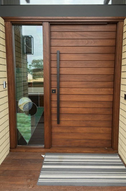 Multi Horizontal Plank Wood Door Eto Doors