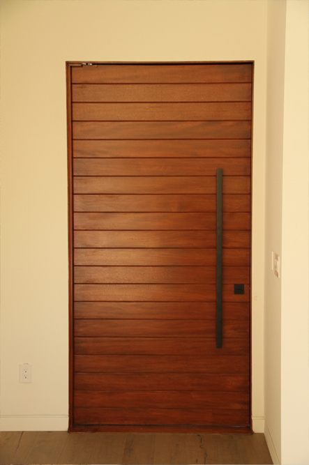Multi Horizontal Plank Wood Door | ETO Doors