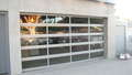 Full View Aluminum & Clear Glass Garage Door