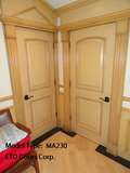 "Mahogany 2 Panel Arched Door (1-3/4"")"