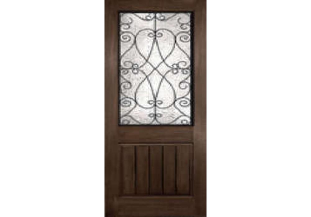 DRA2P80PCLHL6 - McKenzie-Plastpro - PRISCILLA RUSTIC WROUGHT IRON HALF LITE DOOR (1-3/4\ )  sc 1 st  ETO Doors & McKenzie-Plastpro - PRISCILLA RUSTIC WROUGHT IRON HALF LITE DOOR (1 ...