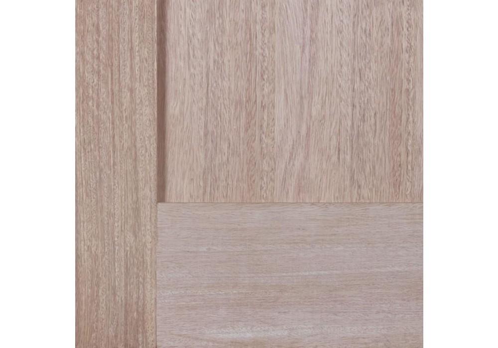 Ma110 1 Panel Shaker Flat Panel No Sticking Mahogany
