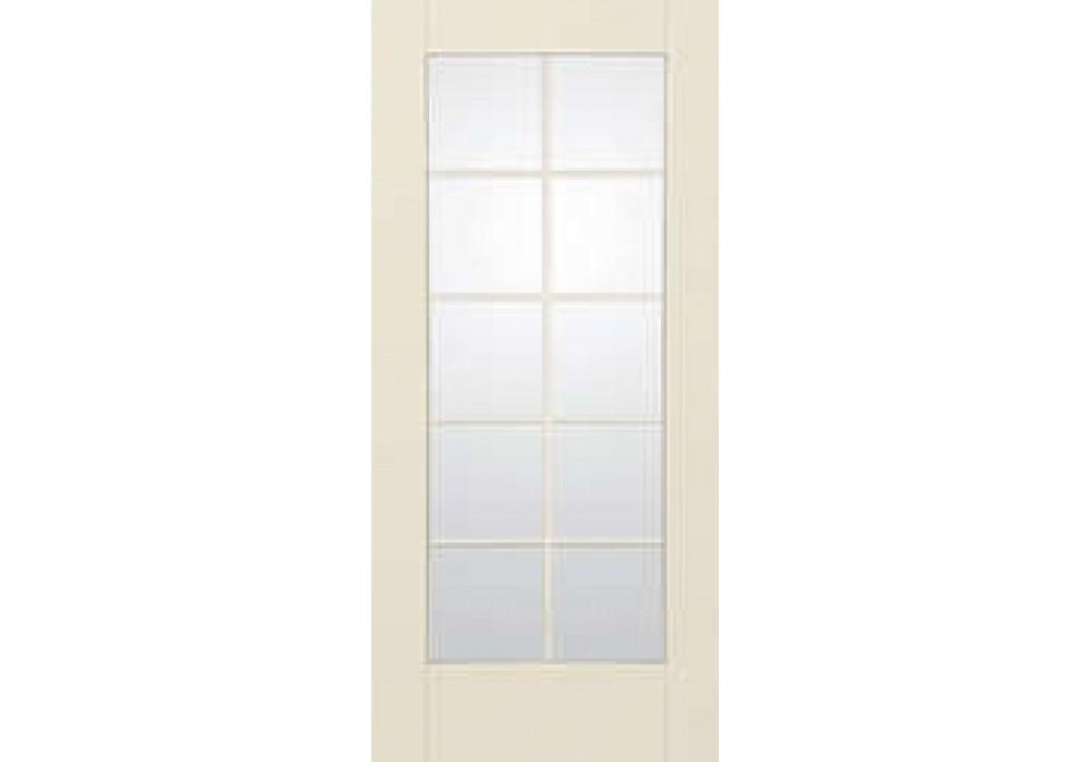 Ss2010 moscow therma tru smooth star clear 10 lite door for 10 light door