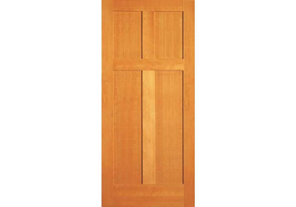 Vertical Grain Douglas Fir Interior Doors 4 Panel Eto Doors