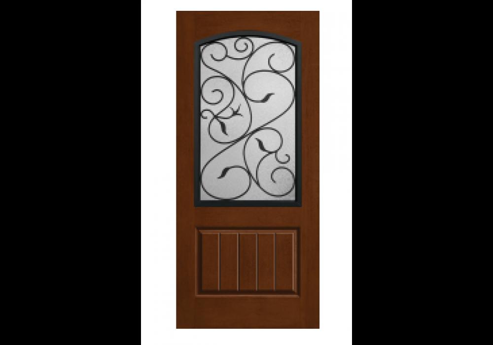 Pennington Therma Tru Rustic Wrought Iron Augustine Door (1 3/4