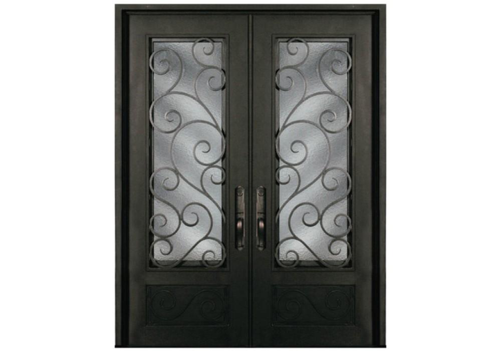 S818shxx61 Escon Forged Double Iron Doors