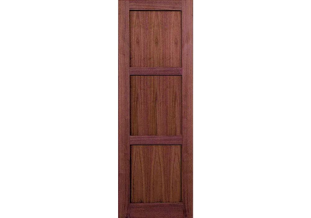 Wv8003p 96 Walnut 3 Panel Shaker Interior Door 1 34