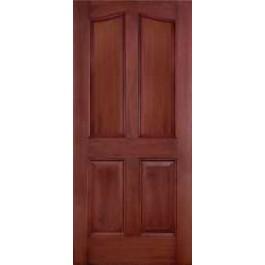 "DRM4E - Seward-Plastpro - FIBERGLASS MAHOGANY EYEBROW DOOR (1-3/4"")"