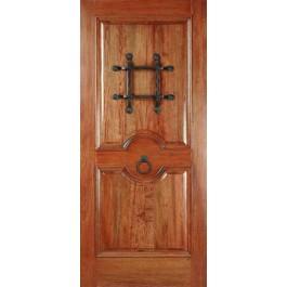 """MahoganyRM2 - Mahogany RM2 Rustic Knotty Door (1-3/4"""")"""