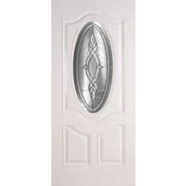 Camarillo-Plastpro - BRENTWOOD-ZINC SMOOTH SKIN 3/4 PREMIUM DOOR