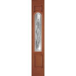 Plastpro - Brentwood-Zinc Woodgrain Sidelite Door