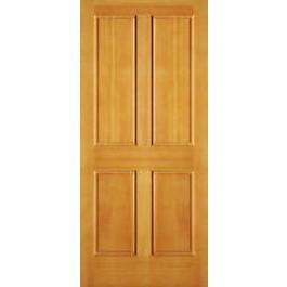 """AB2044 - Vertical Grain Douglas Fir EXTERIOR 4 Panel Door (1-3/4"""")"""