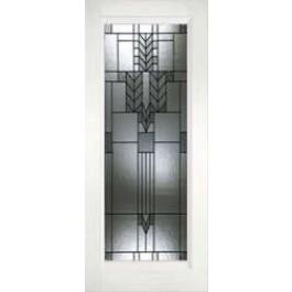 "Plastpro Sprint Patina True White Oak Full Lite Door (1-3/4"")"