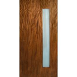 "Leptos - Single Vertical Lite Door with Laminate Glass (1-3/4"")"