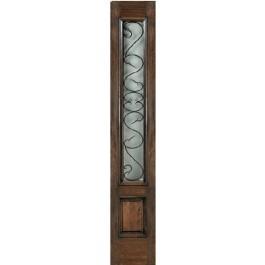 Side-Lite   Tuscany Clear Iron Glass   ETO Doors