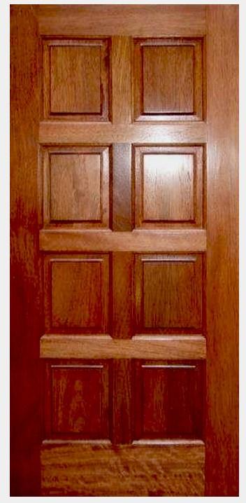 Mahogany 8 panel eto doors exterior solid wood panel for 8 panel solid wood doors