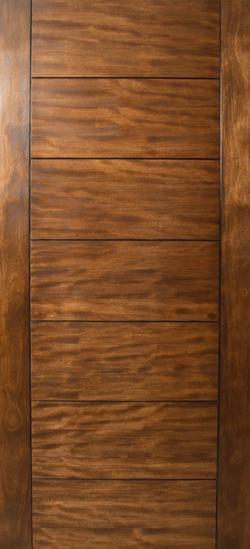 Sulcus multi horizontal plank wood door w vertical for 6 horizontal panel wood doors