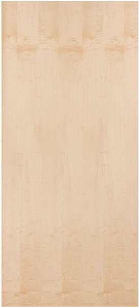 Wmps Plain Sliced White Maple Standard Duty Comm Flush