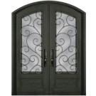 Escon Forged Double Iron Doors SS818SHXX/54
