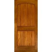 EXMA240 - Mahogany 2-Panel Arch V-Groove | ETO Doors