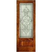 Mahogany EL400 Panel Bottom door (8-0ft)
